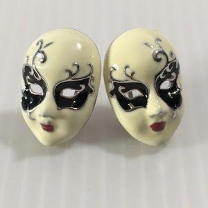Jewelry - Unique enamel earrings